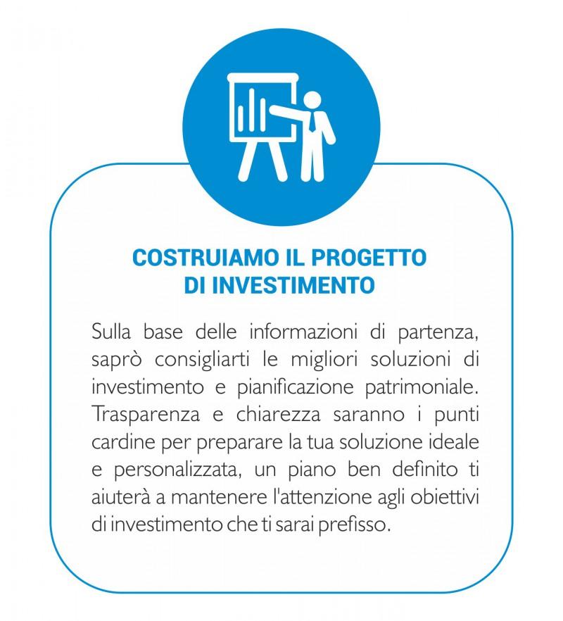 Costruiamo assieme il progetto di investimento